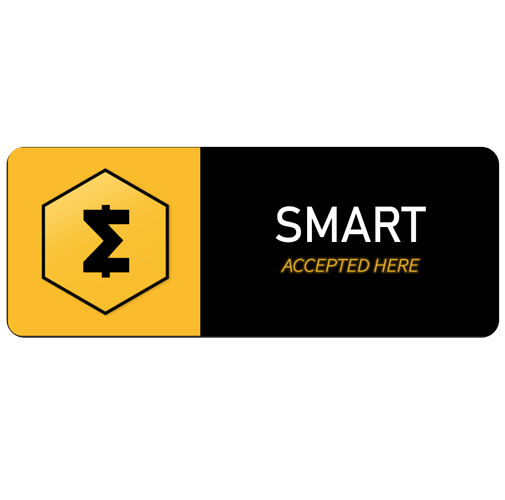 SmartCash-sticker